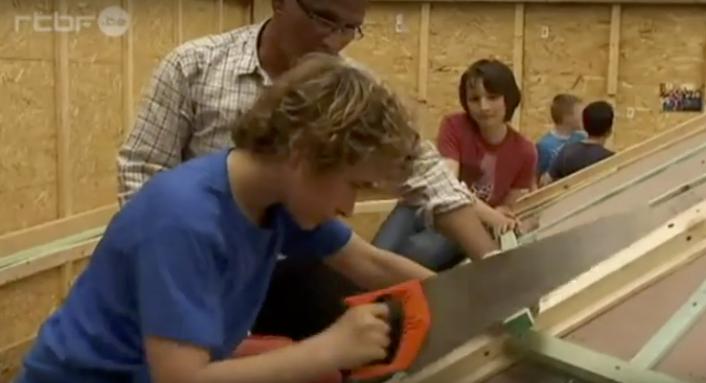 Travail avec les enfants - Graine d'artisan